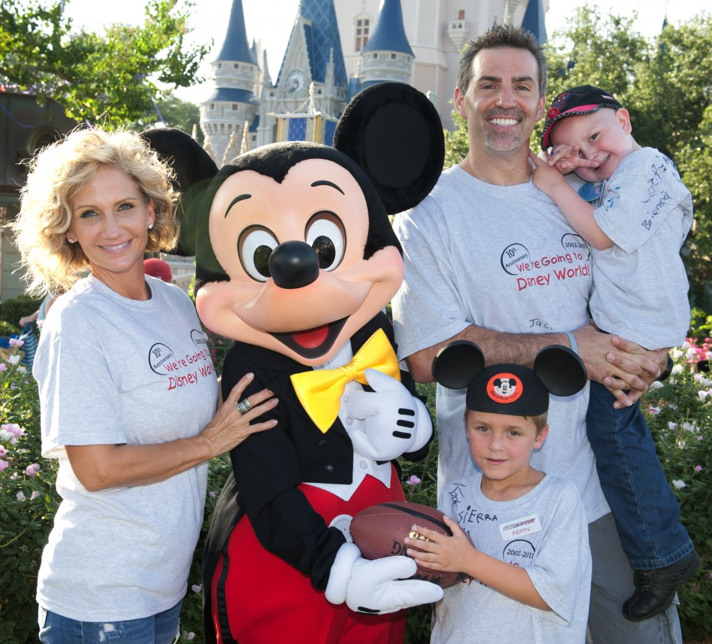 NFL Super Bowl Winning Quarterback Kurt Warner at the Magic Kingdom