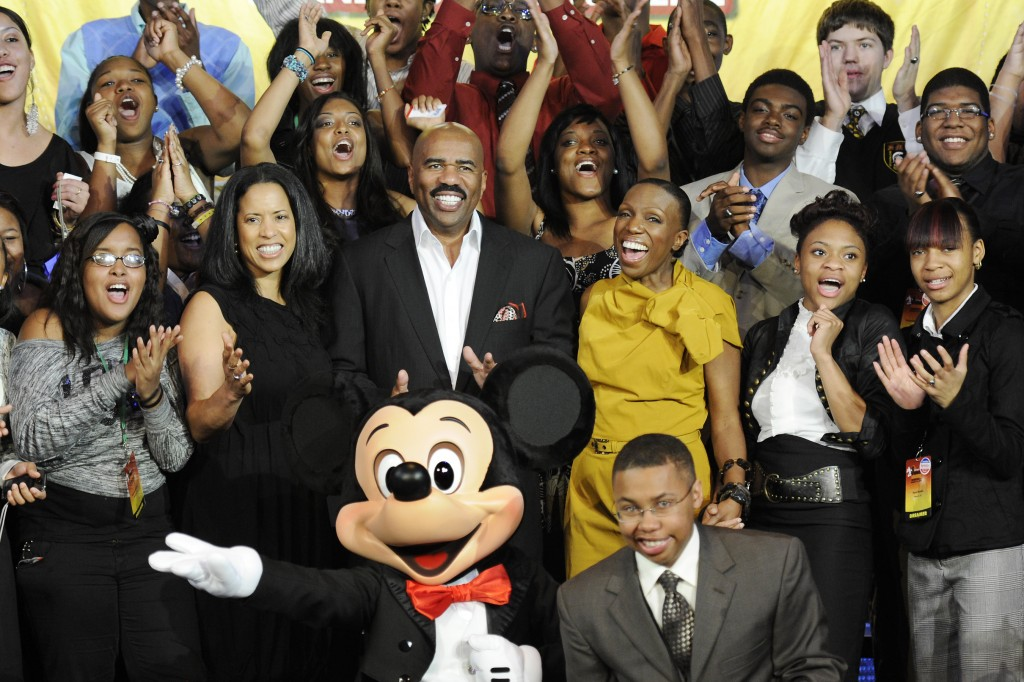 Nominations Open for the 2012 Disney's Dreamers Academy with Steve Harvey