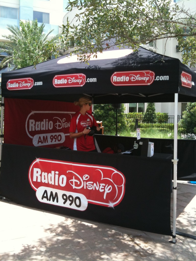 Hilton Bonnet Creek Orlando Pool party radio disney