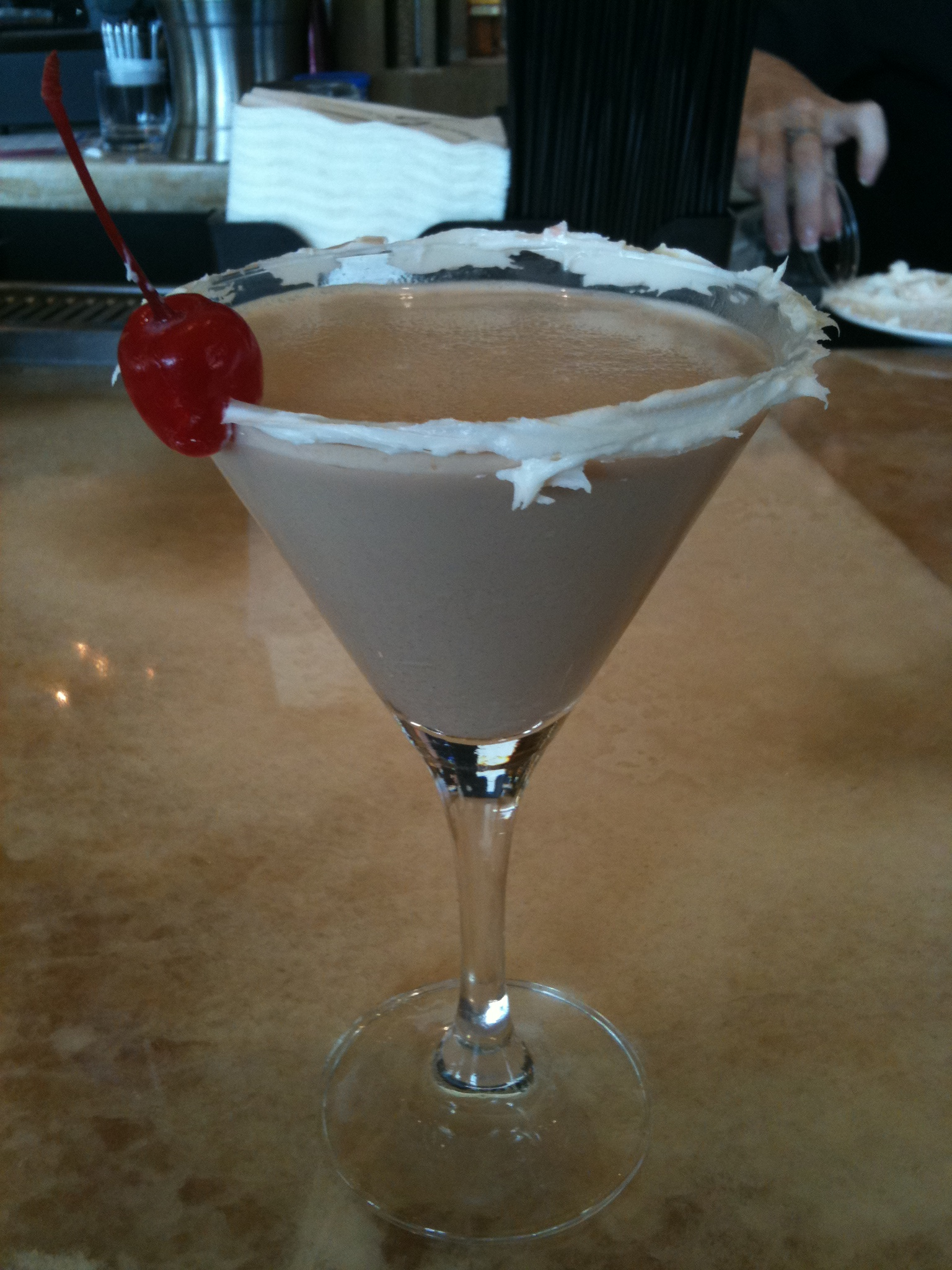 Red Velvet Cupcake Martini from Cupcake Lovers Weekend at the Hilton Bonnet Creek Orlando