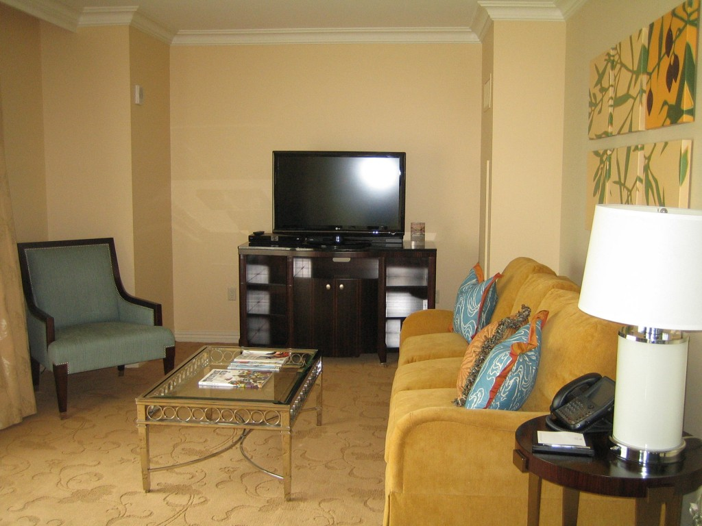 Waldorf Astoria Suite Bonnet Creek Orlando Living Room