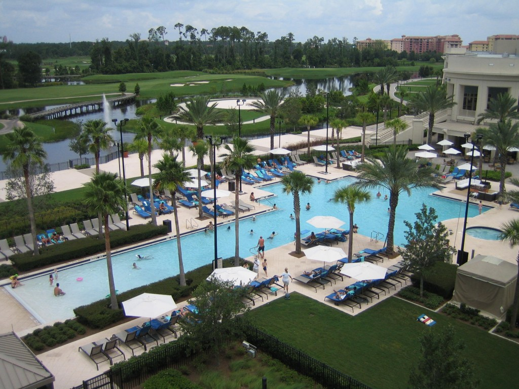 Waldorf Astoria Suite Bonnet Creek Orlando pool
