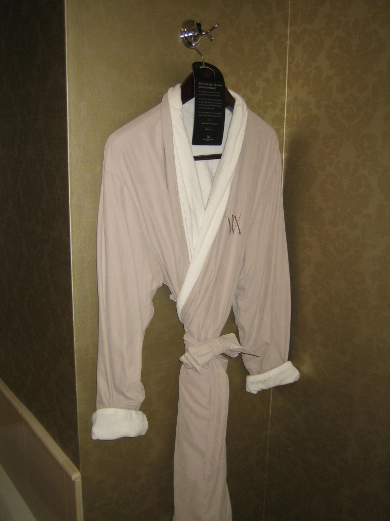 Waldorf Astoria Suite Orlando Bonnet Creek Bathrobe