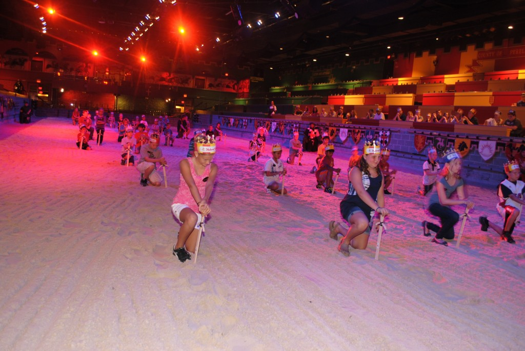 Kids Can Train to Be a Knight at Medieval Times Orlando