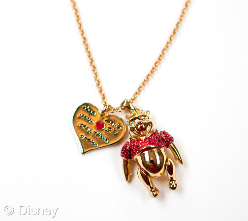 Pooh Disney Couture Necklace & Pendant