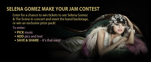 Enter for the Chance to Meet Selena Gomez in Person