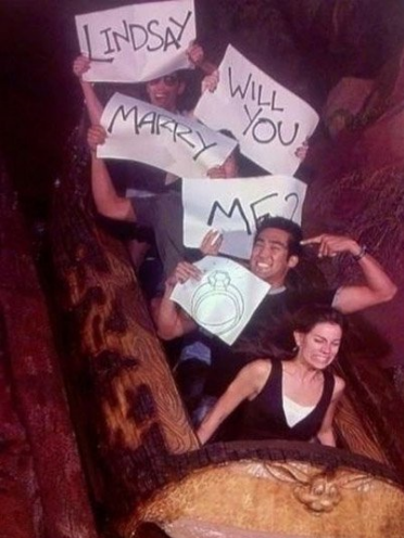 Splash Mountain Disney Marriage Proposal