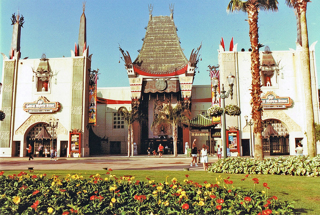 Disney MGM Studios Throwback Photo Sans Sorcerer's Hat