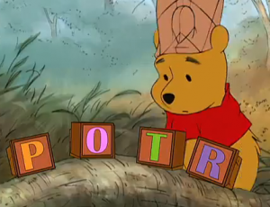 Winnie the Pooh Harry Potter
