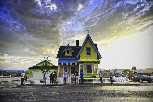 Disney Pixar UP House Utah