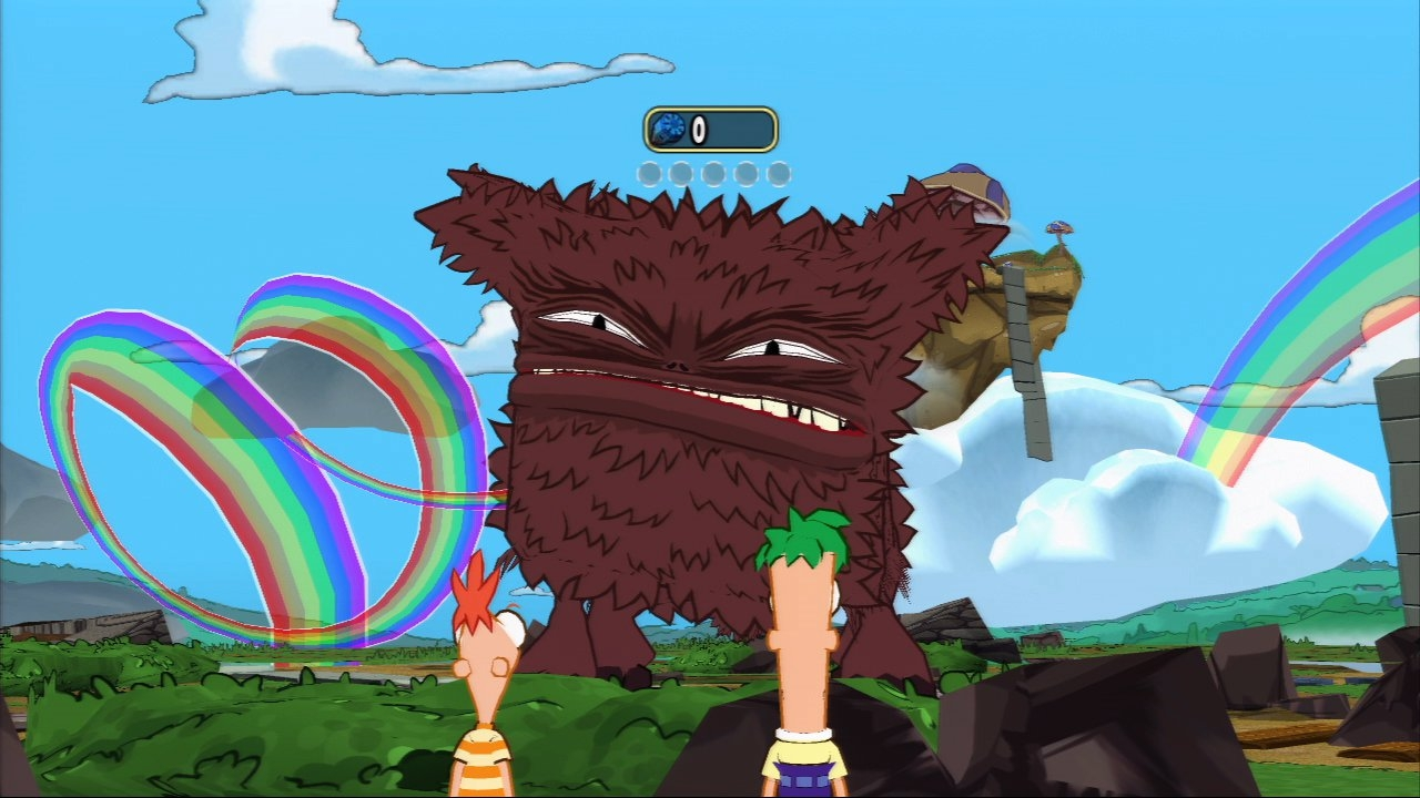 Phineas And Ferb Across The Second Dimension Video Game