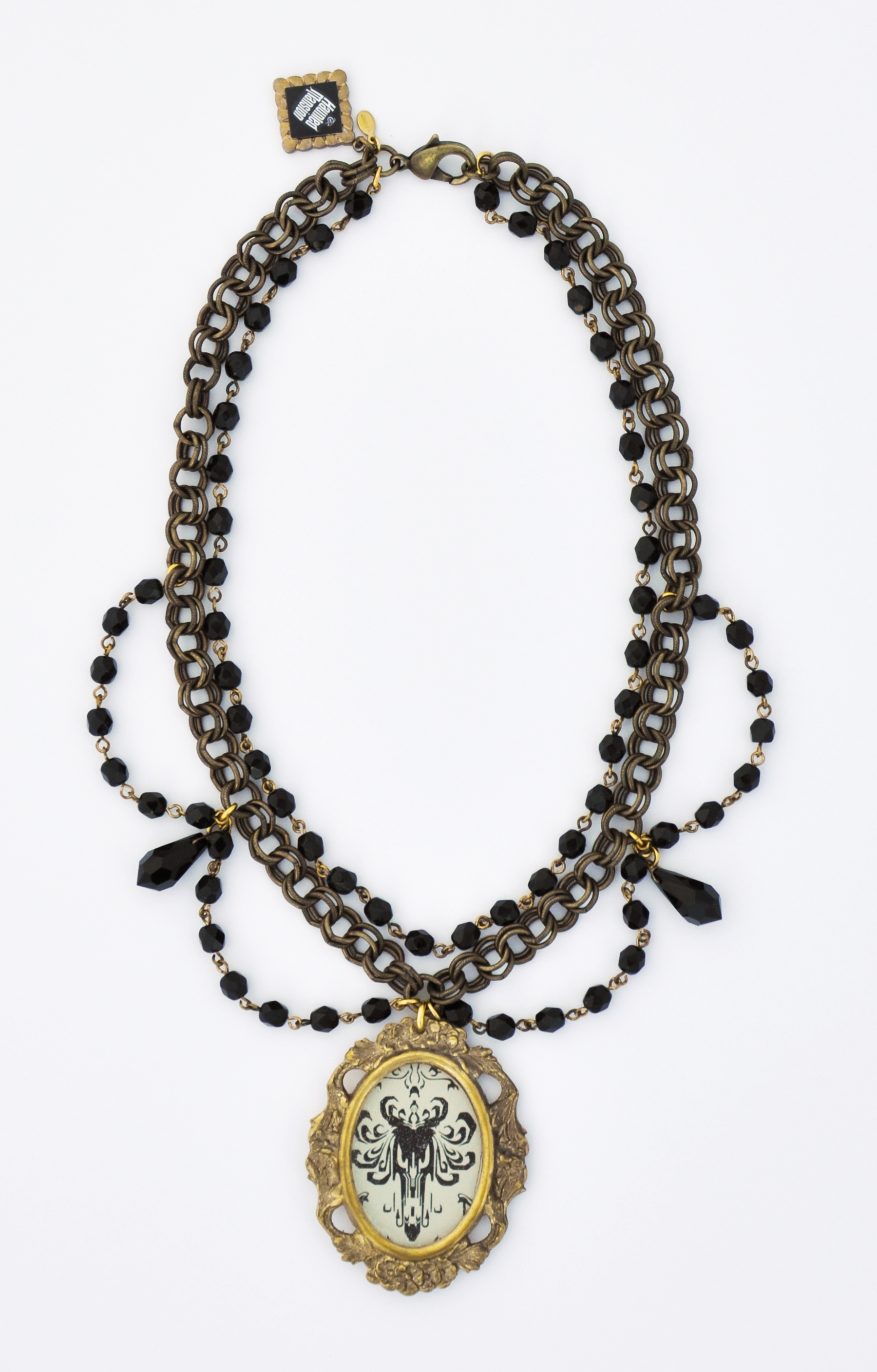 Amazing disney haunted mansion necklaces from artist john wind haunted mansion chandelier necklace aloadofball Gallery