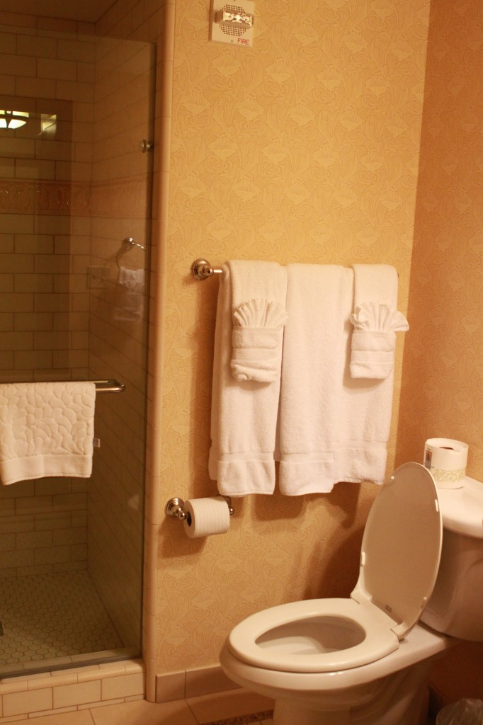 Disney Grand Californian Grand Villa bathroom