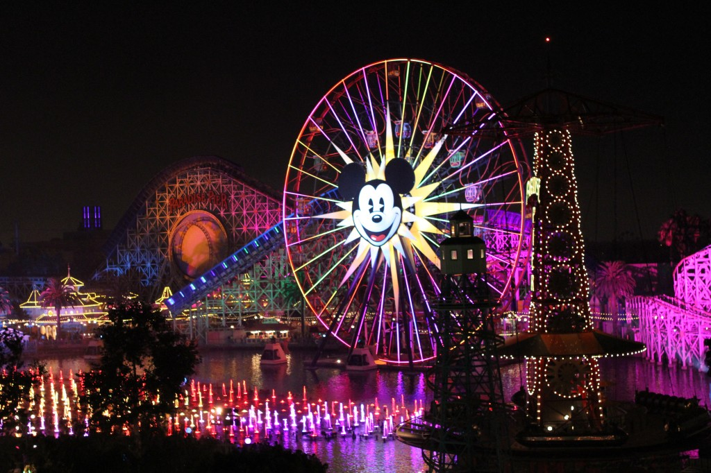 Disney Grand Californian Grand Vila World of Color View