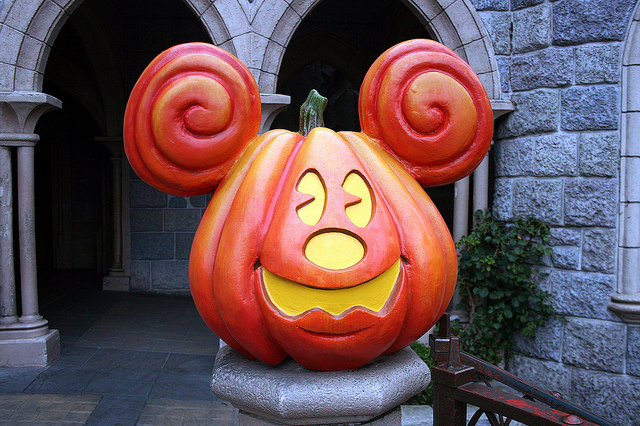 Mickey Mouse Pumpkin, by David Jafra