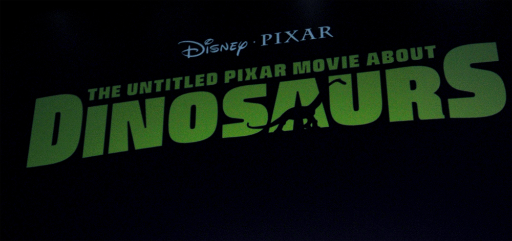 Pixar Dinosaurs Movie