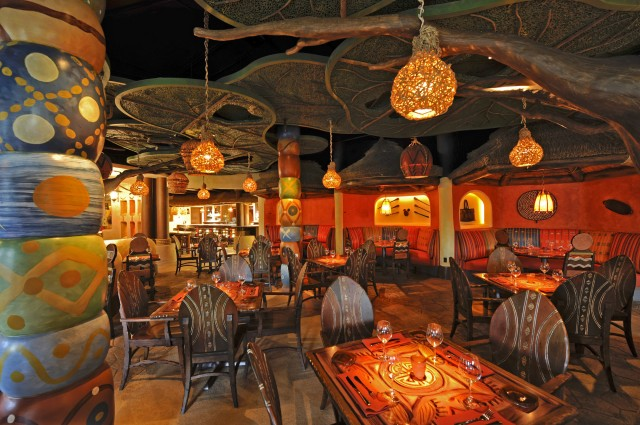 Sanaa Untamed Dining Adventure Transports Disney Guests To