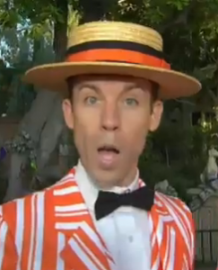 Disney's Dapper Dans Serenade with a Haunted Mansion Song for Halloween