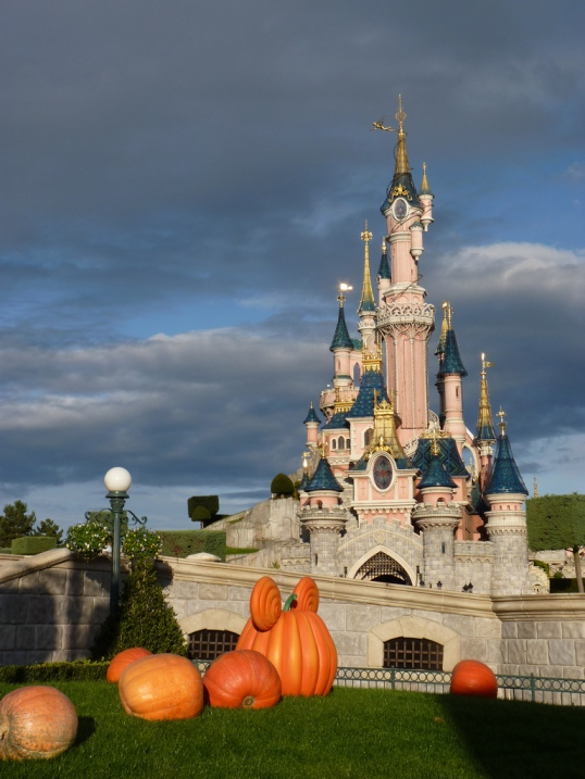 Paris Disneyland's Spooky Halloween Transformation