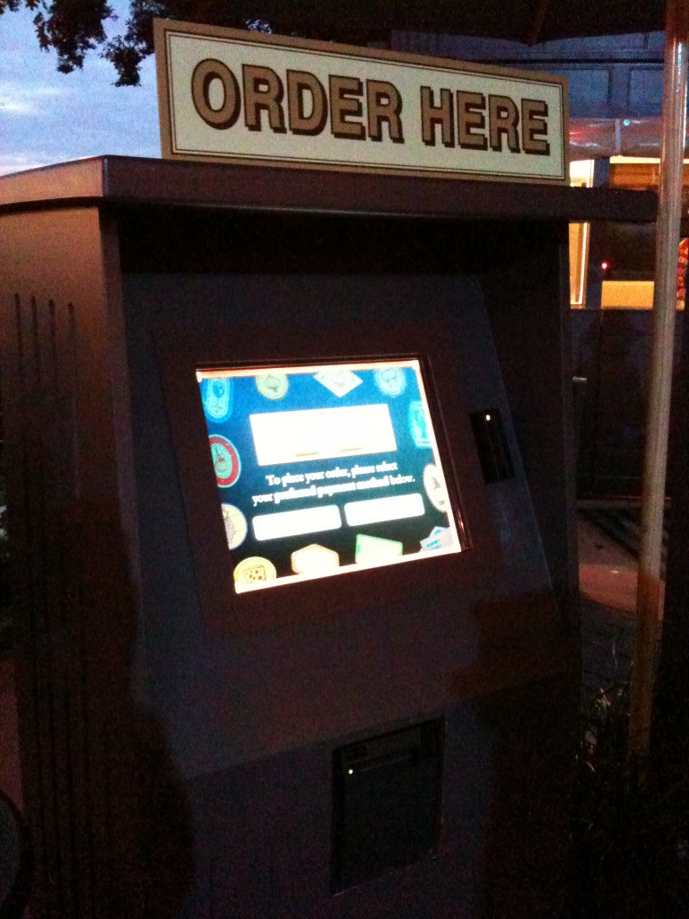 Self Serve Kiosk Testing at the 2011 Epcot International Food and Wine Festival