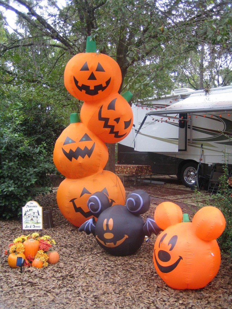 Halloween Pumpkin Blowup