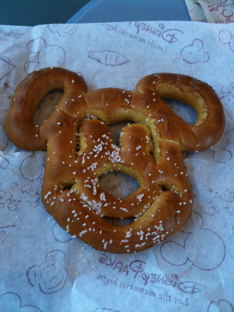 Have You Seen the New Mickey Mouse Soft Pretzels at Walt Disney World?