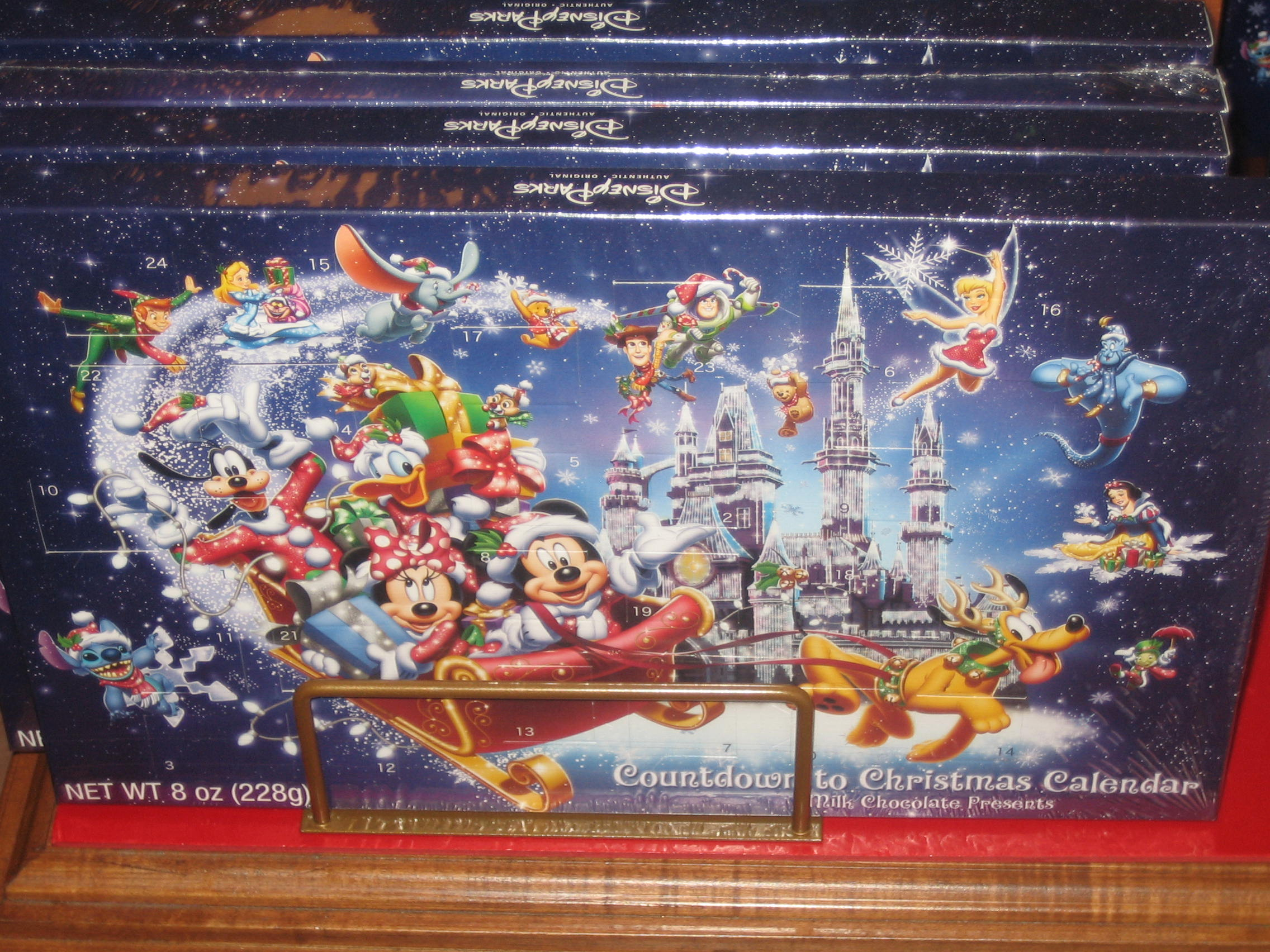Countdown To Christmas Chocolate Calendar Image 1231