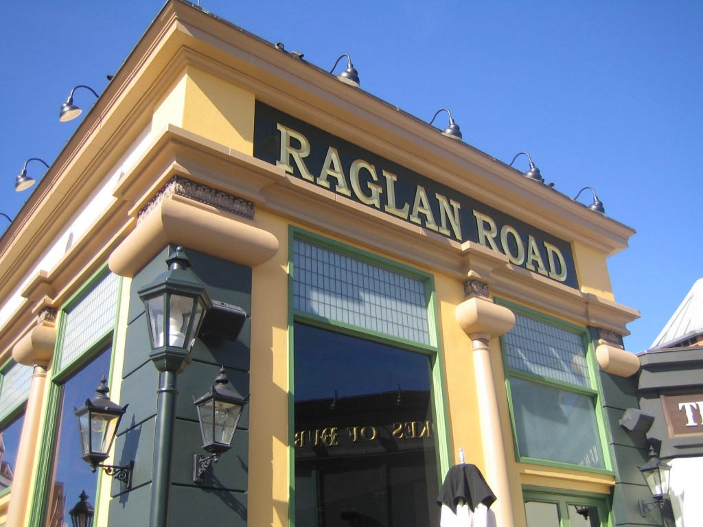 Raglan Road Downtown Disney Irish Pub and Restaurant