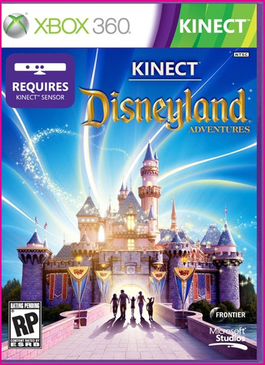 Disneyland Adventures Kinect Video Game Review Disney Every Day