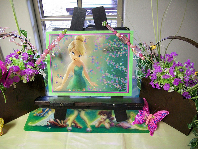 Tinkerbell Birthday Party Food Table