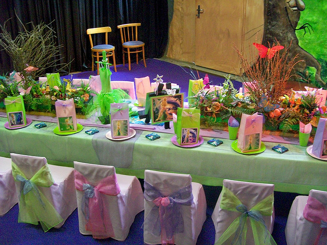 Disney Tinker Bell Themed Birthday Party Celebration Idea