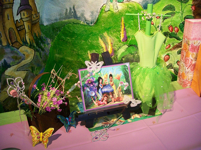 Tinkerbell Birthday Party Table Ideas
