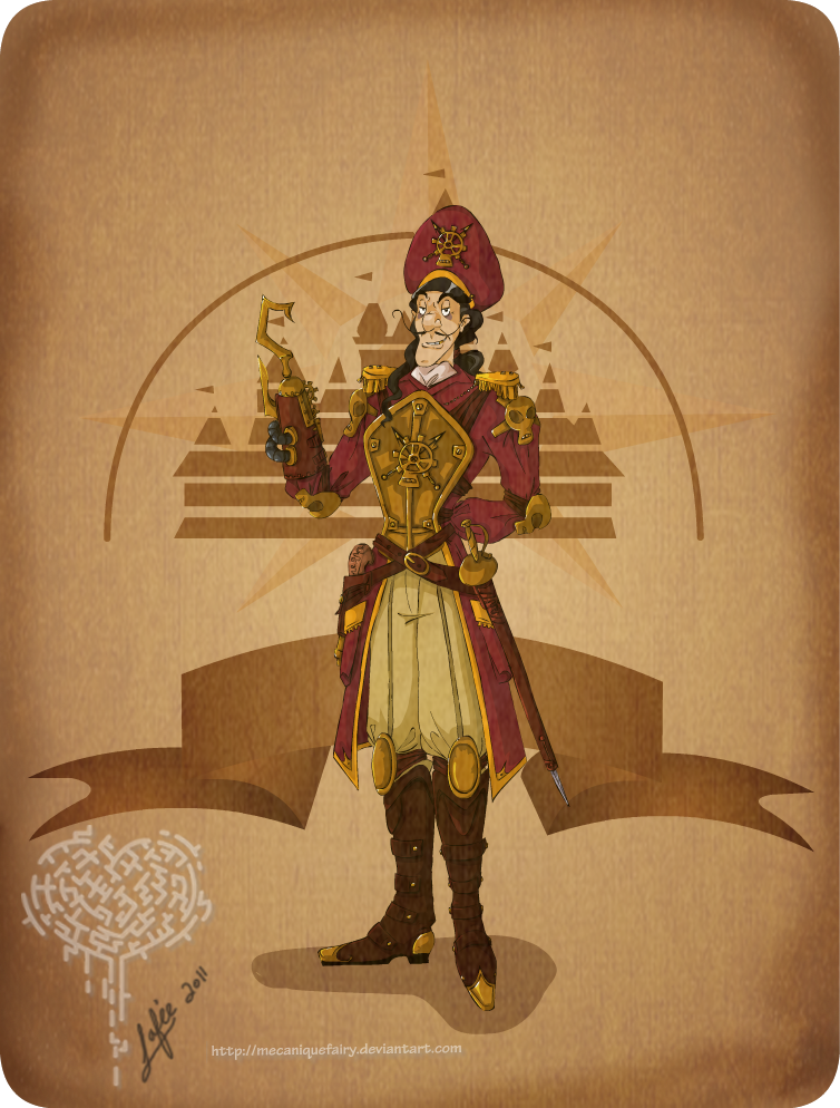 Disney Steampunk Captain Hook