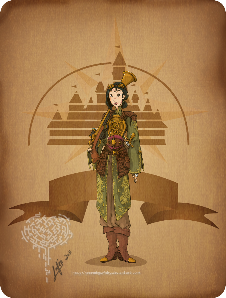 Disney Steampunk Mulan
