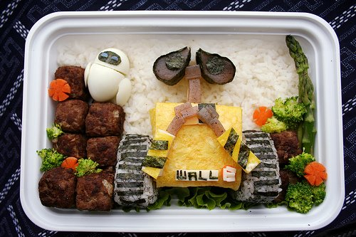 Kids Lunch Idea – Disney WALL-E Bento Box