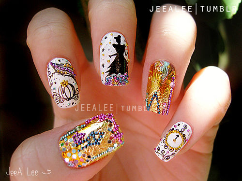 Sleeping Beauty Nail Art - 5 Disney Nail Art Manicures You Have To See To Believe Disney