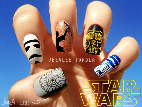 Star Wars Manicure