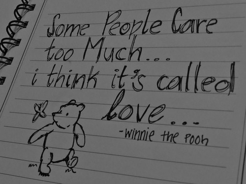 Words of Wisdom from Winnie the Pooh