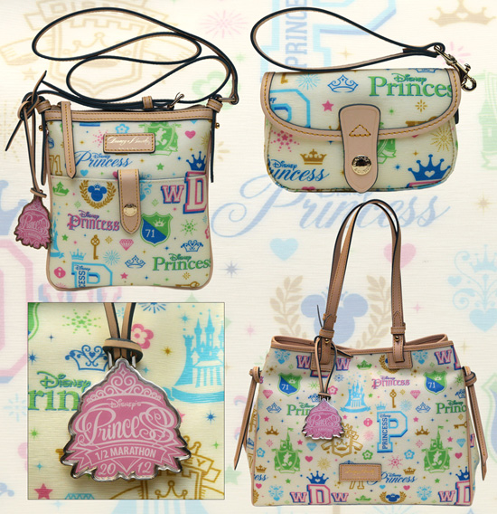 2012 Princess Half Marathon Disney Dooney and Bourke Bags