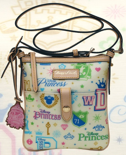 2012 Princess Half Marathon Disney Dooney and Bourke Letter Carrier
