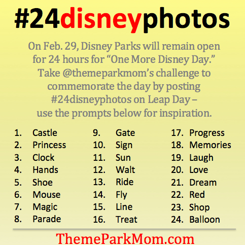 One More Disney Day Photo Challenge #24DisneyPhotos