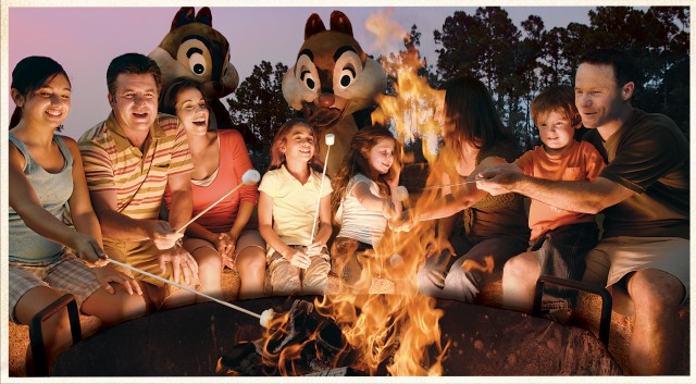Disney Off the Beaten Path – Campfire Smores with Chip and Dale