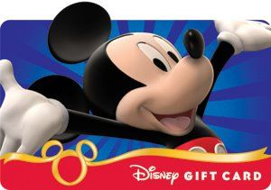 One More $100 Disney Gift Card Giveaway