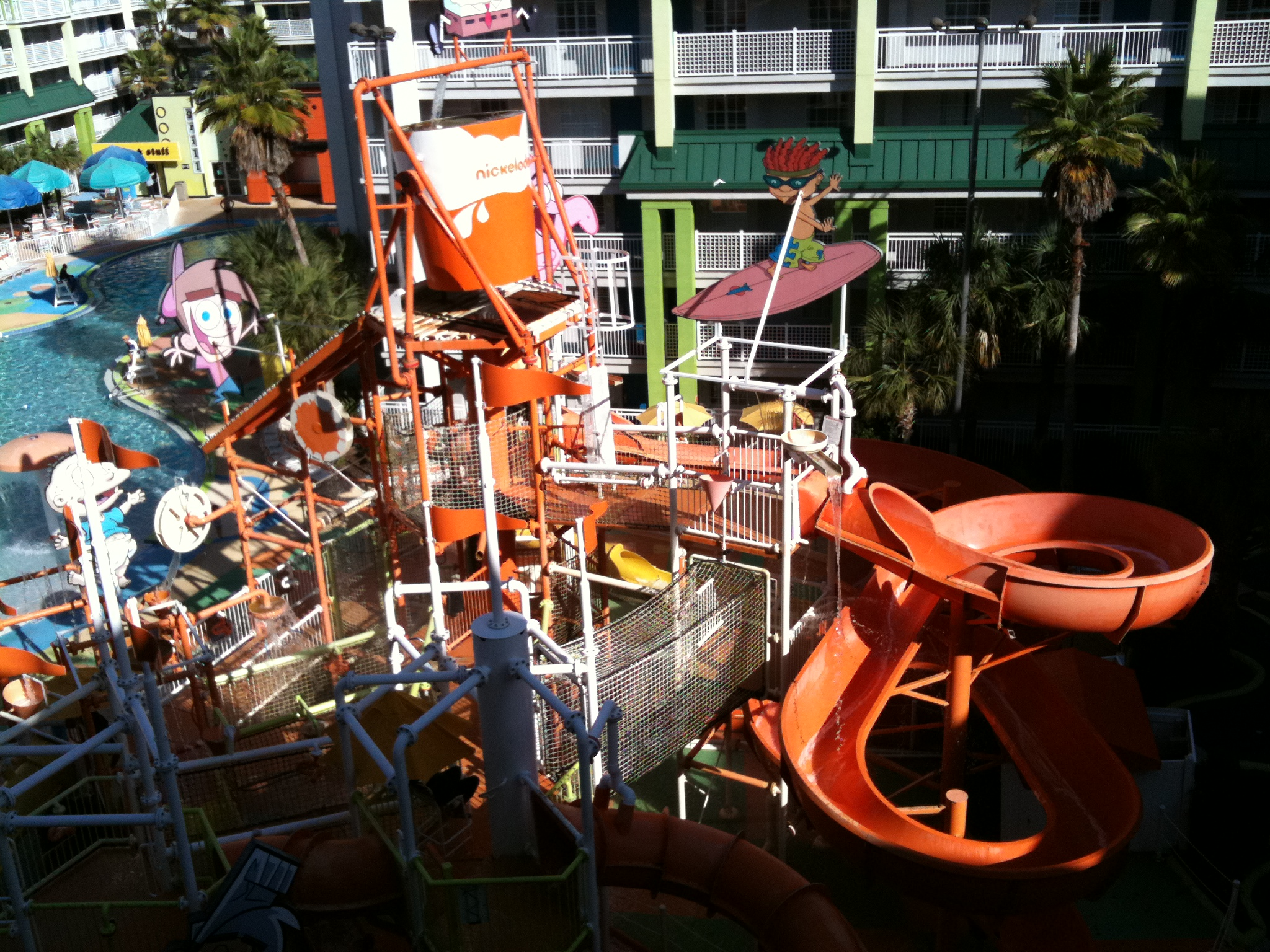 Nickelodeon Suites Orlando Water Park Area