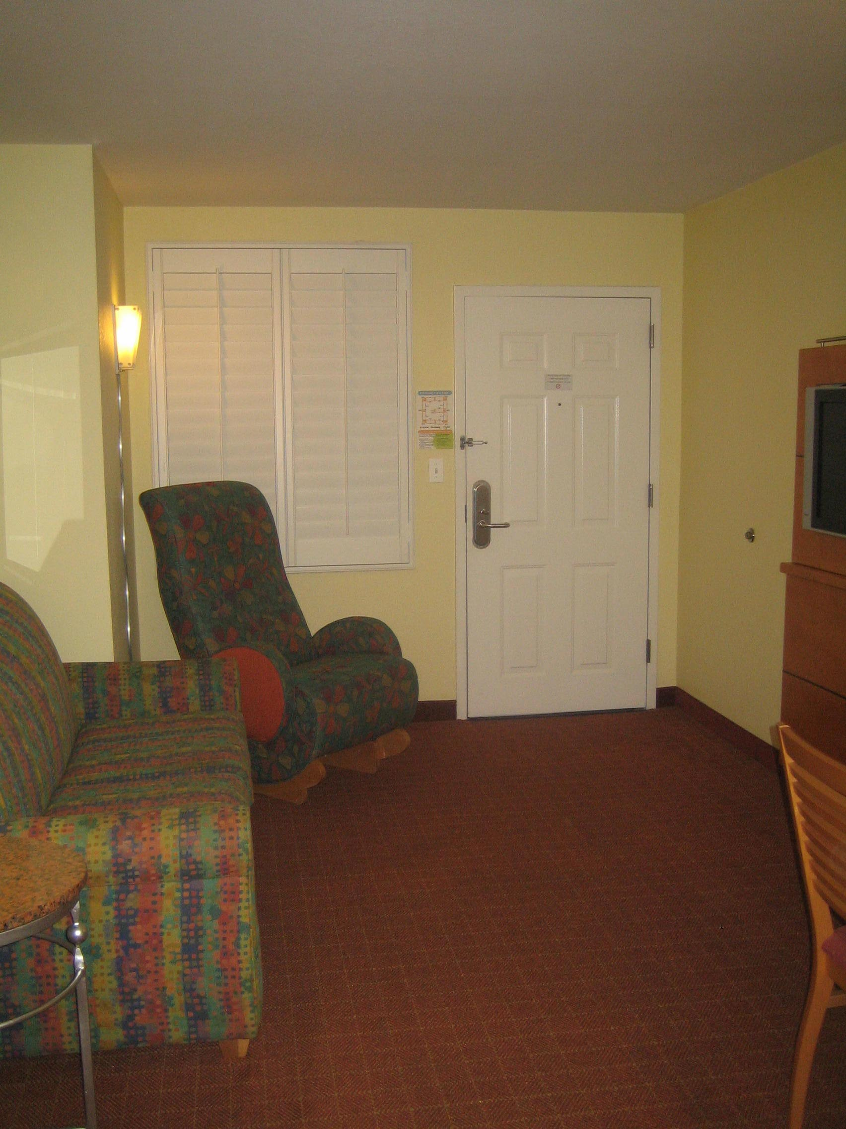 Inside Hotel Room Door: Photo Tour Of Nickelodeon Suites Orlando Near Walt Disney