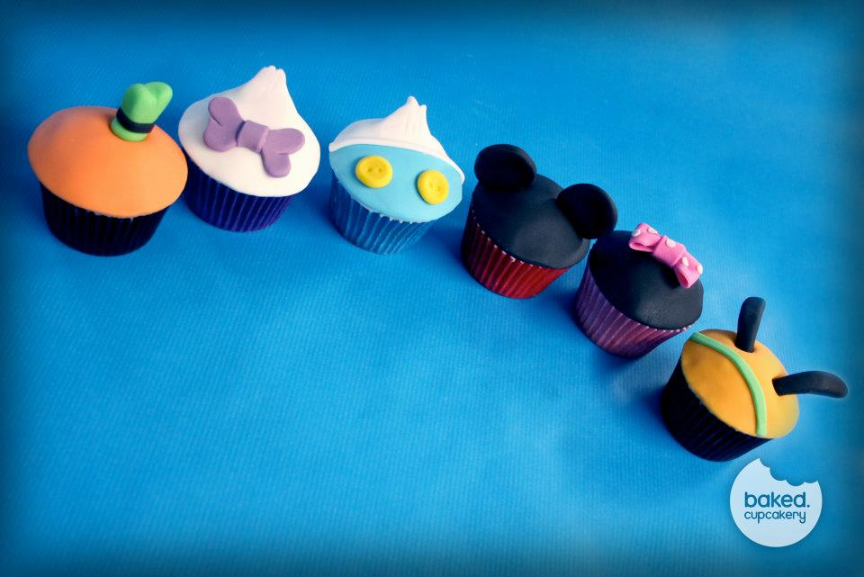 Disney Character Cupcakes – Too Sweet to Eat?