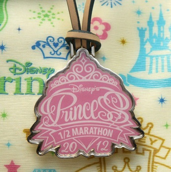disney dooney and bourke 2012 princess half marathon fob