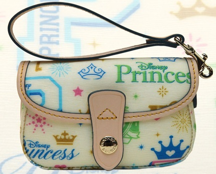 disney dooney and bourke 2012 princess half marathon wristlet