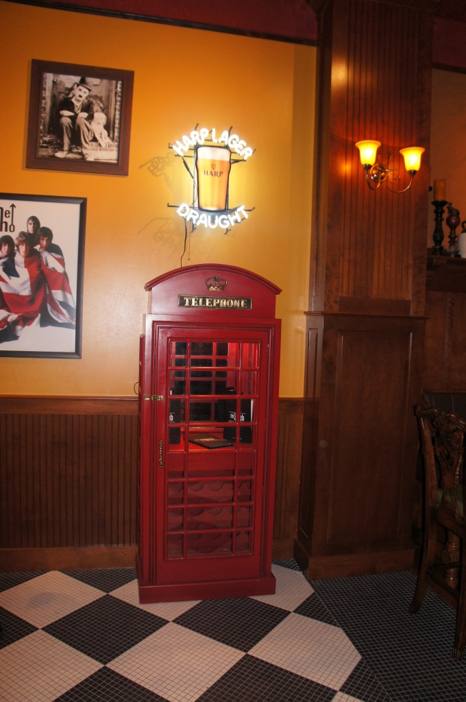 The Pub Orlando Bar Phone Booth