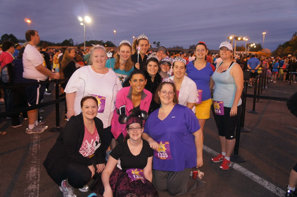 Backstage Epcot Pictures Taken at Disney's 2012 Tangled Royal Family 5K